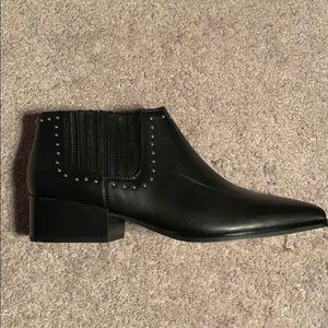 NWOT Marc Fisher studded black boot